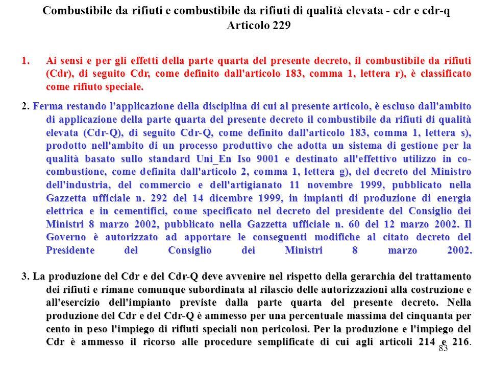 82 Pneumatici fuori uso Articolo 228 1.Fermo restando il disposto di cui al decreto legislativo 24 giugno 2003, n. 209, nonché il disposto di cui agli
