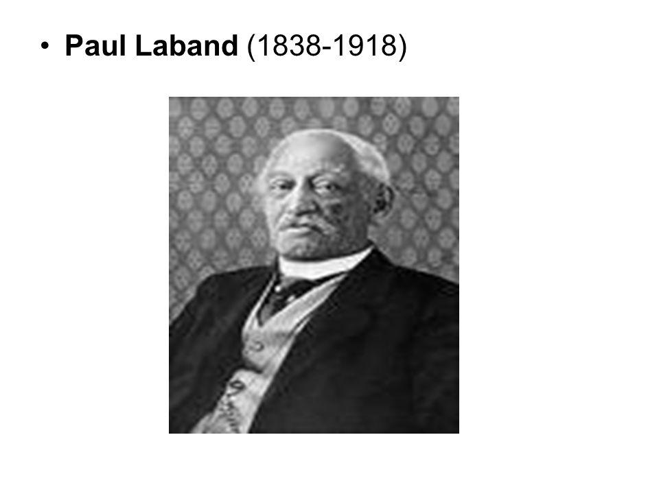 Paul Laband (1838-1918)