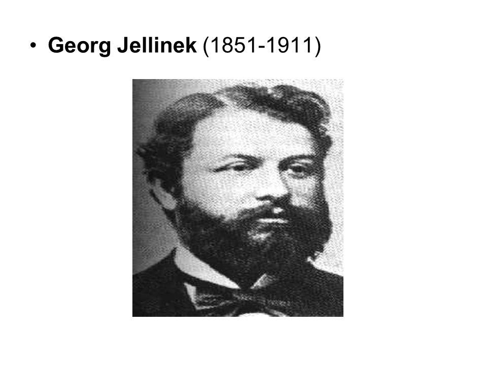 Georg Jellinek (1851-1911)