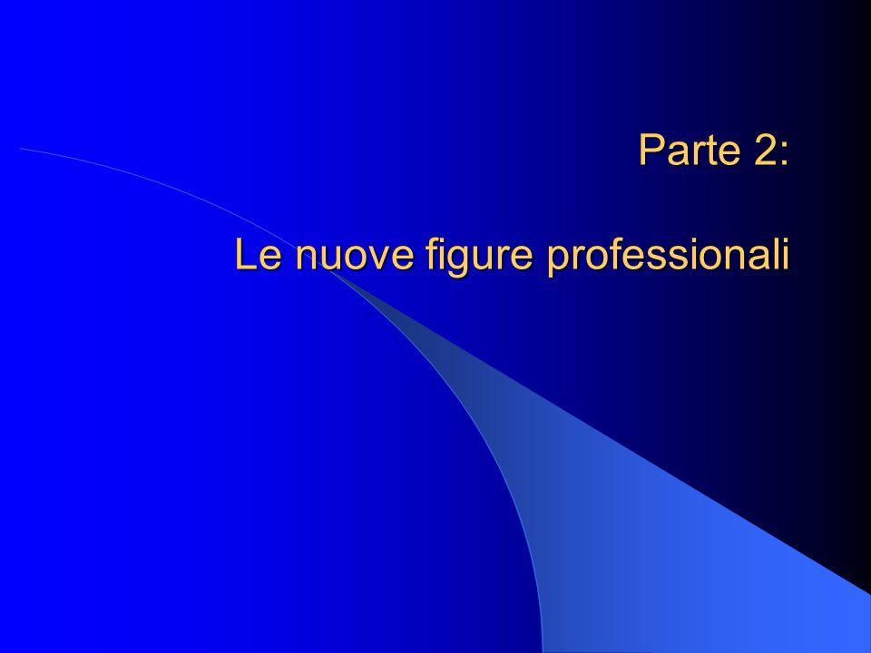 Parte 2: Le nuove figure professionali