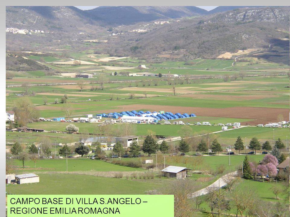 CAMPO BASE DI VILLA S.ANGELO – REGIONE EMILIA ROMAGNA