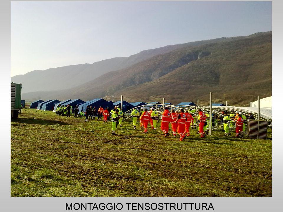 MONTAGGIO TENSOSTRUTTURA