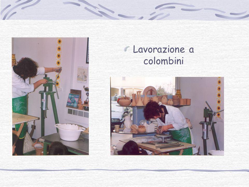 Lavorazione a colombini