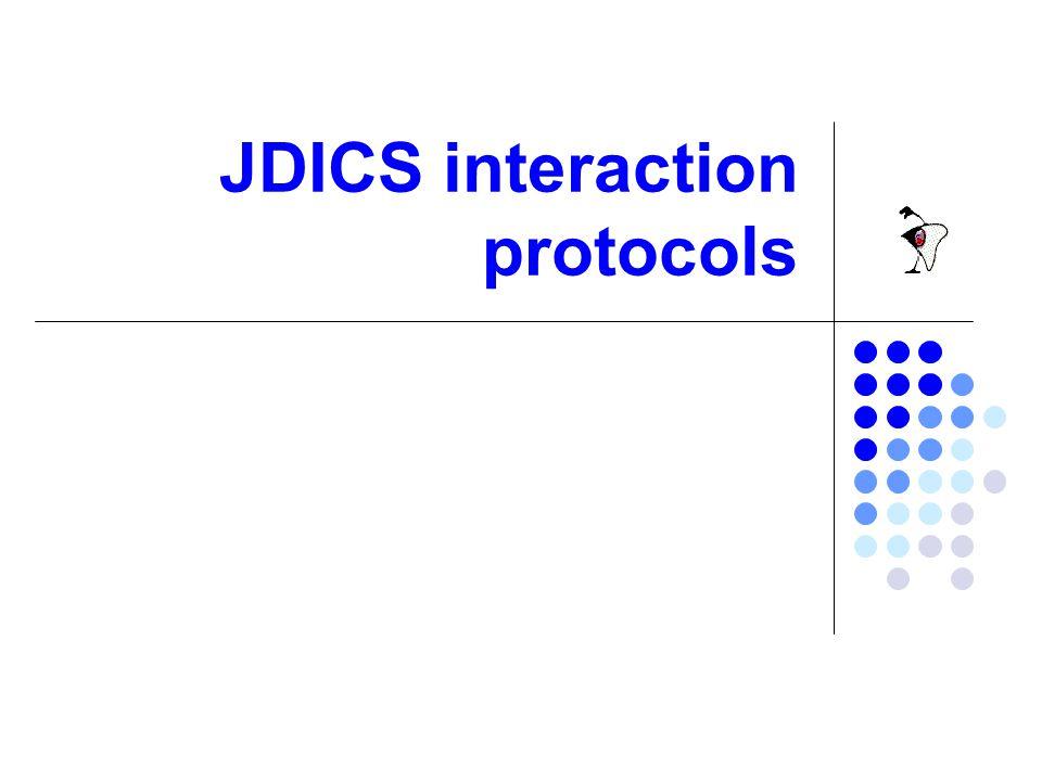 Broker I broker sono i punti di riferimento assoluti per una rete JDICS.