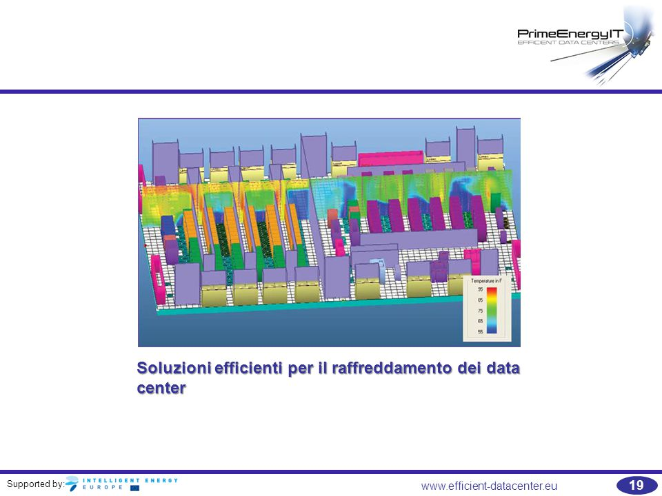 Supported by: 19 www.efficient-datacenter.eu Soluzioni efficienti per il raffreddamento dei data center