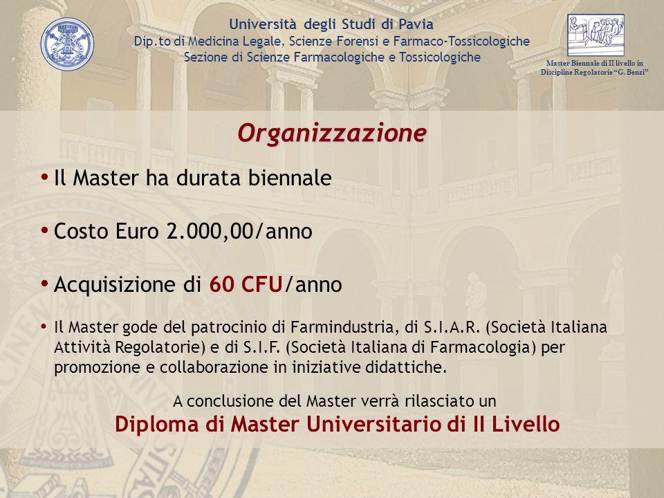Master Biennale di II livello in Discipline Regolatorie G.