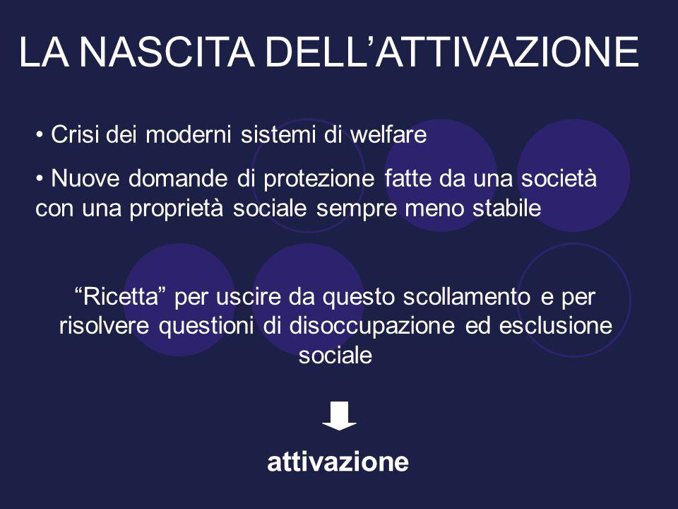 """Crisi dei moderni sistemi di welfare Nuove domande di protezione fatte da una società con una proprietà sociale sempre meno stabile """"Ricetta"""" per usci"""