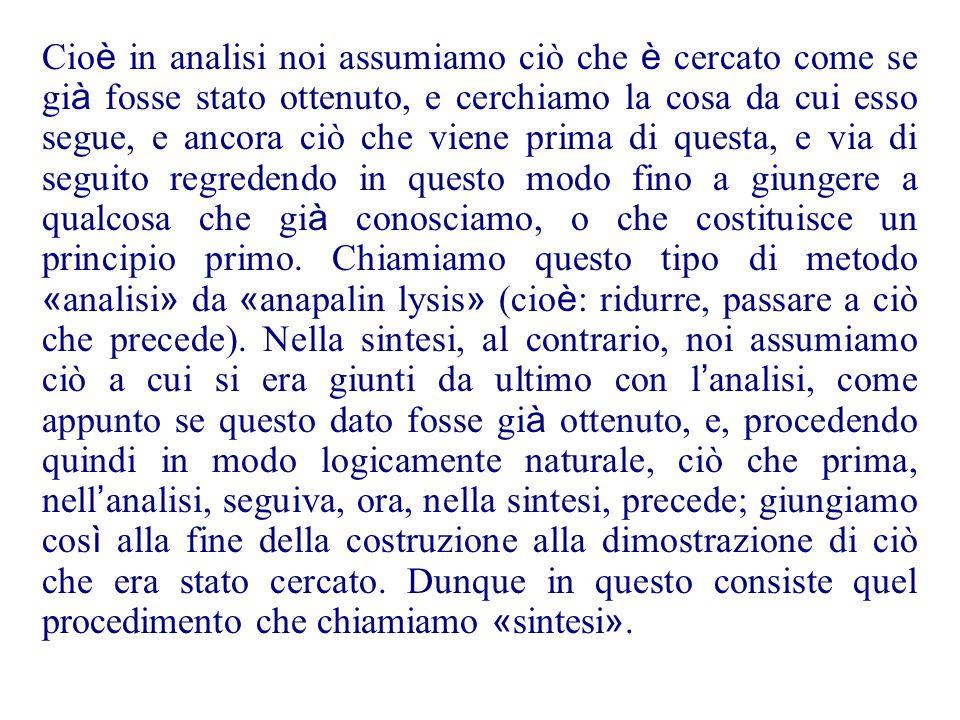 U. Bottazini, P. Freguglia, L. Toti Rigatelli: 1992, Fonti per la storia della matematica (p.88) Quello che è chiamato il campo dell ' analisi - mio c