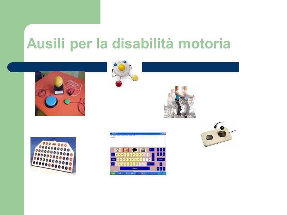 Ausili per la disabilità motoria