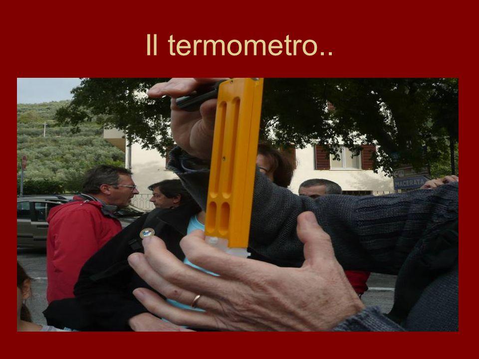 …con gli strumenti indispensabili: l'anemometro..