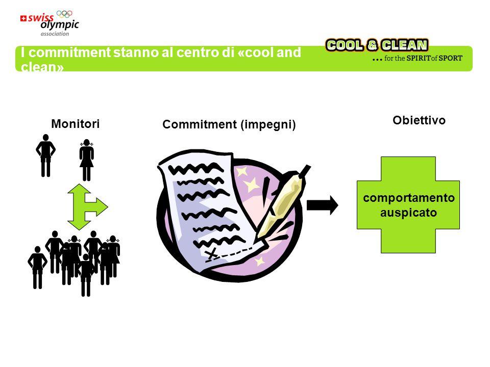 I cinque commitment (impegni) 1.Voglio arrivare in alto.