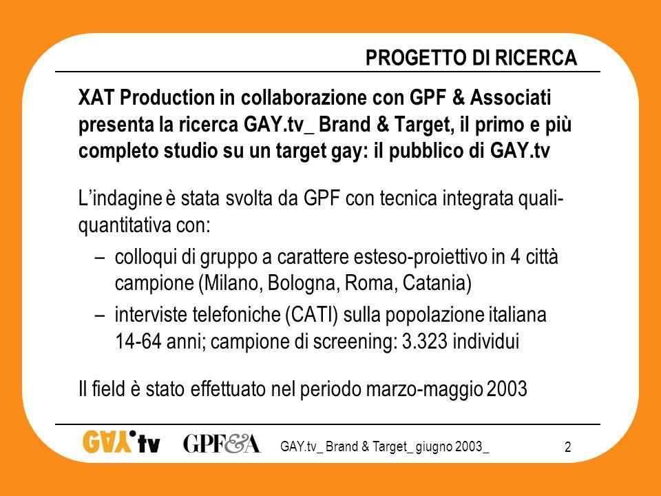 GAY.tv_ Brand & Target_ giugno 2003_ 13 GAY.tv TEMPO LIBERO (indice) n.d.