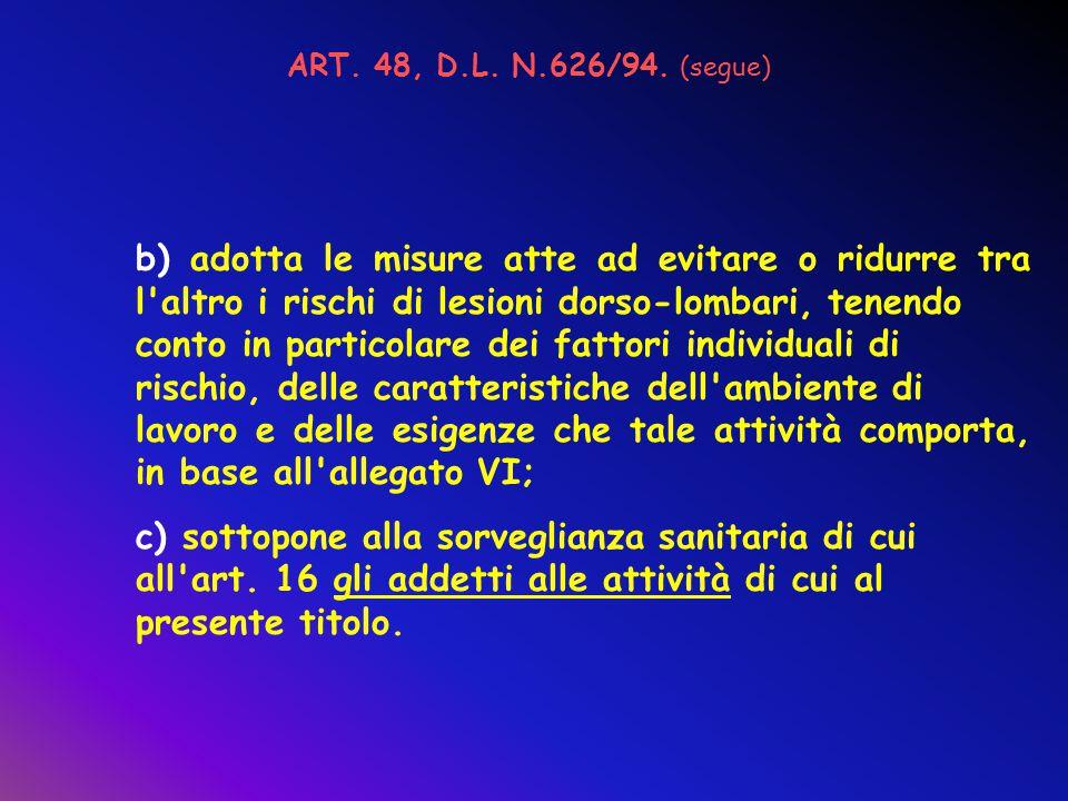 D.L.19 SETTEMBRE 1994 N. 626 con modifiche ed integrazioni del D.L.