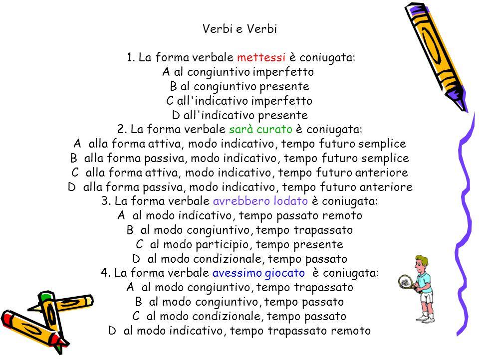 Verbi e Verbi 1.