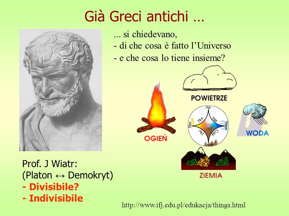 Già Greci antichi …...