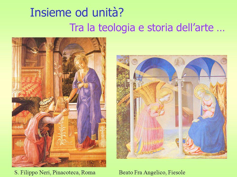 Insieme od unità.Tra la teologia e storia dell'arte … S.