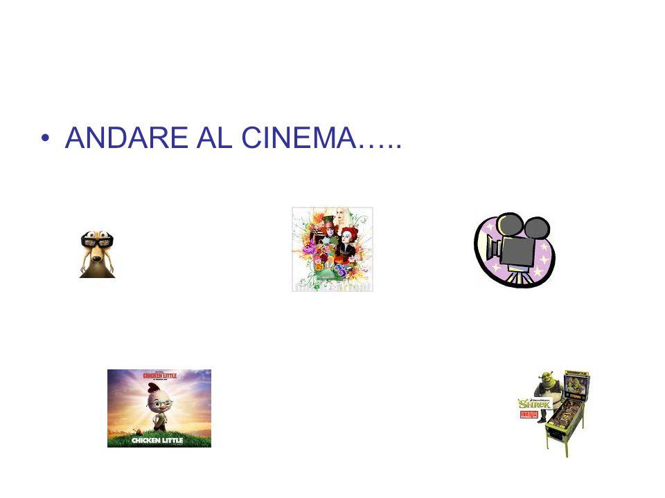 ANDARE AL CINEMA…..