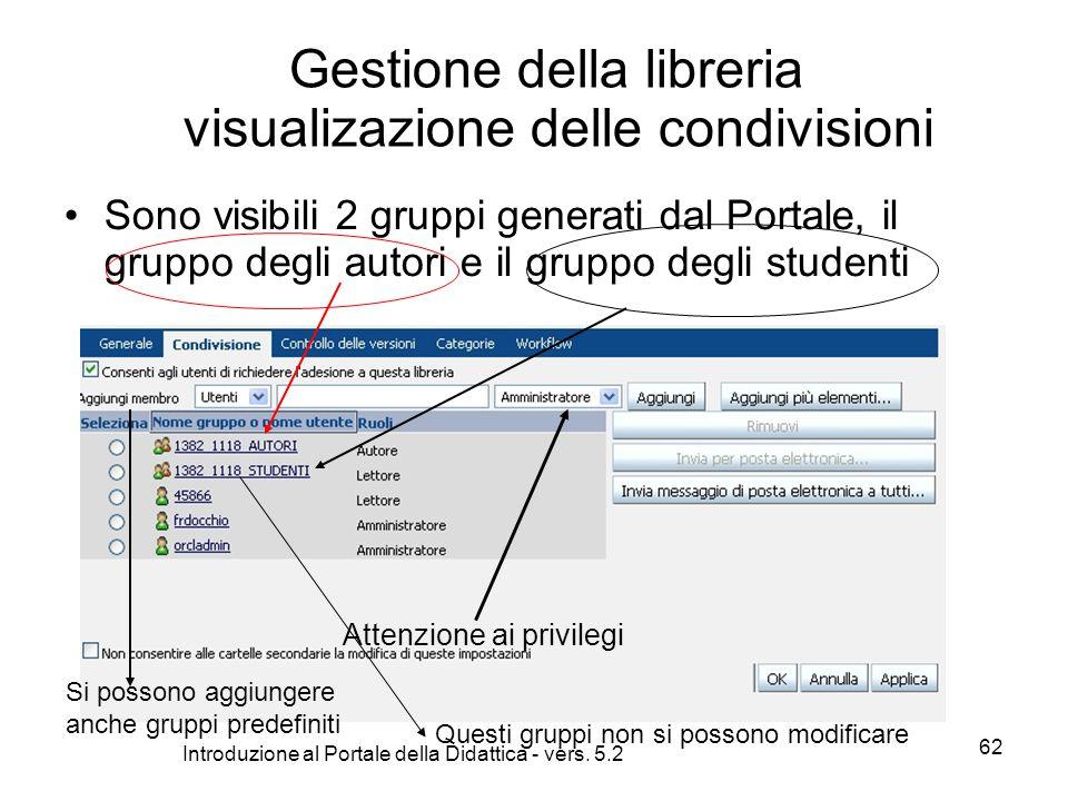 Introduzione al Portale della Didattica - vers.
