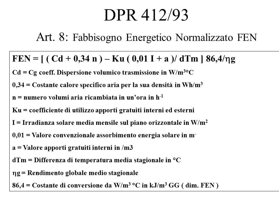 DPR 412/93 Art.