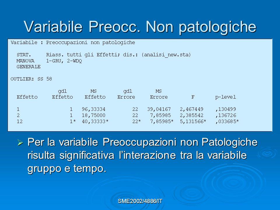 SME2002/4886/IT Variabile Preocc.