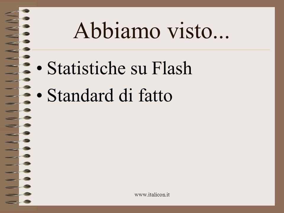 www.italicon.it Pro e contro Il cluster è più libero, e può essere sempre trasformato in scaletta La scaletta è pronta all'uso per testi lineari