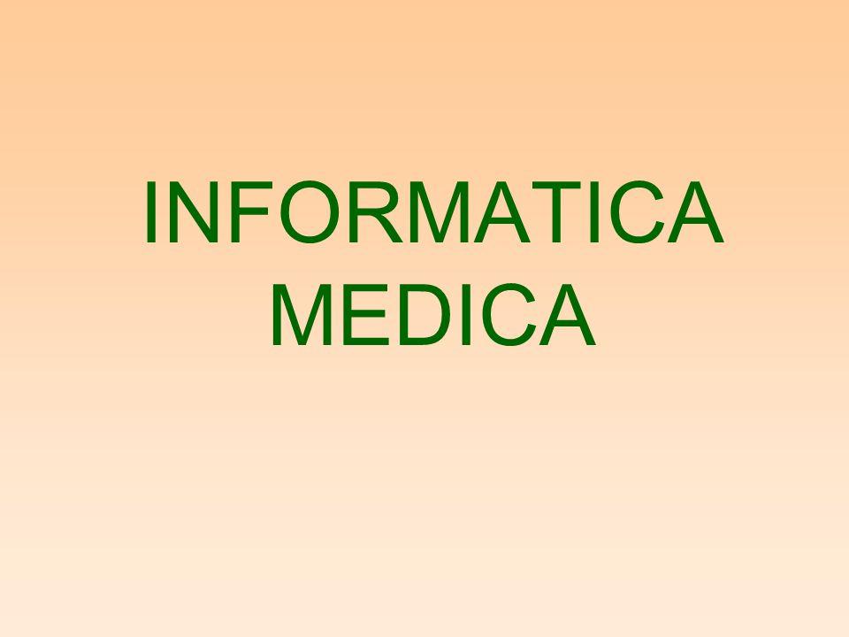 STATO DELL'ARTE INFORMATICA SANITARIA –Il sistema informativo sanitario integrato: Reparto e ospedale Altri ospedali ASL Regione Medici di base Centri di cura Farmacie Abitazioni