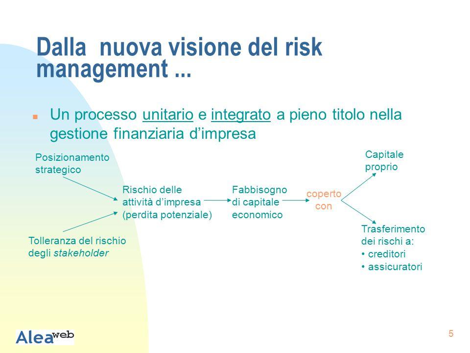 56 L'offerta di servizi professionali per il risk management (b)