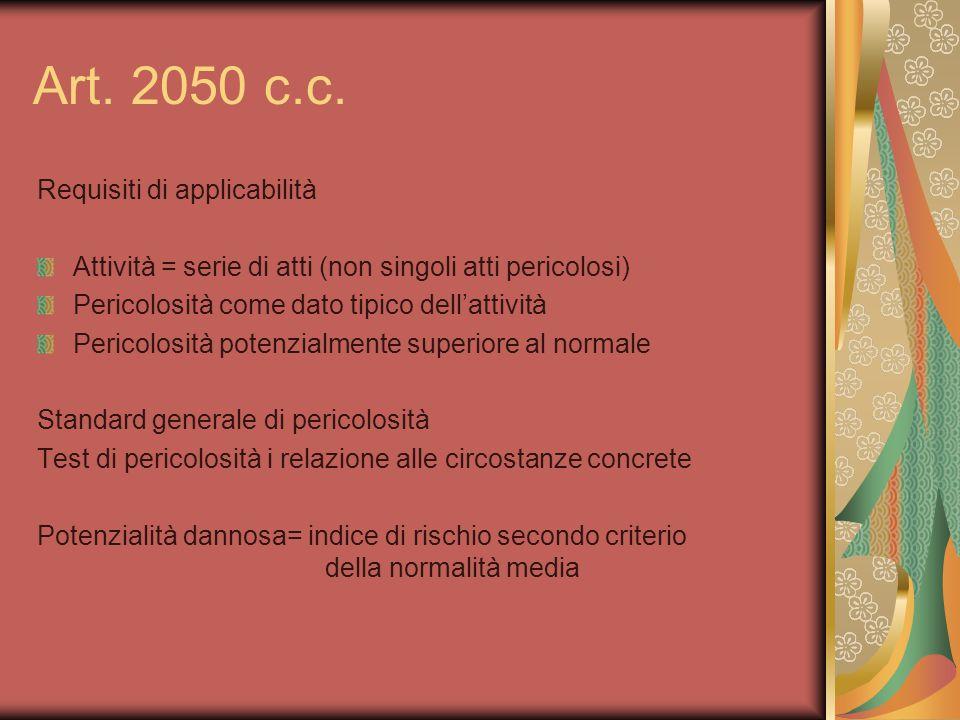 Art. 2050 c.c.