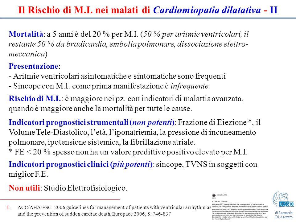 3. Cardiomiopatia aritmogena di Leonardo Di Ascenzo, MD, PhD