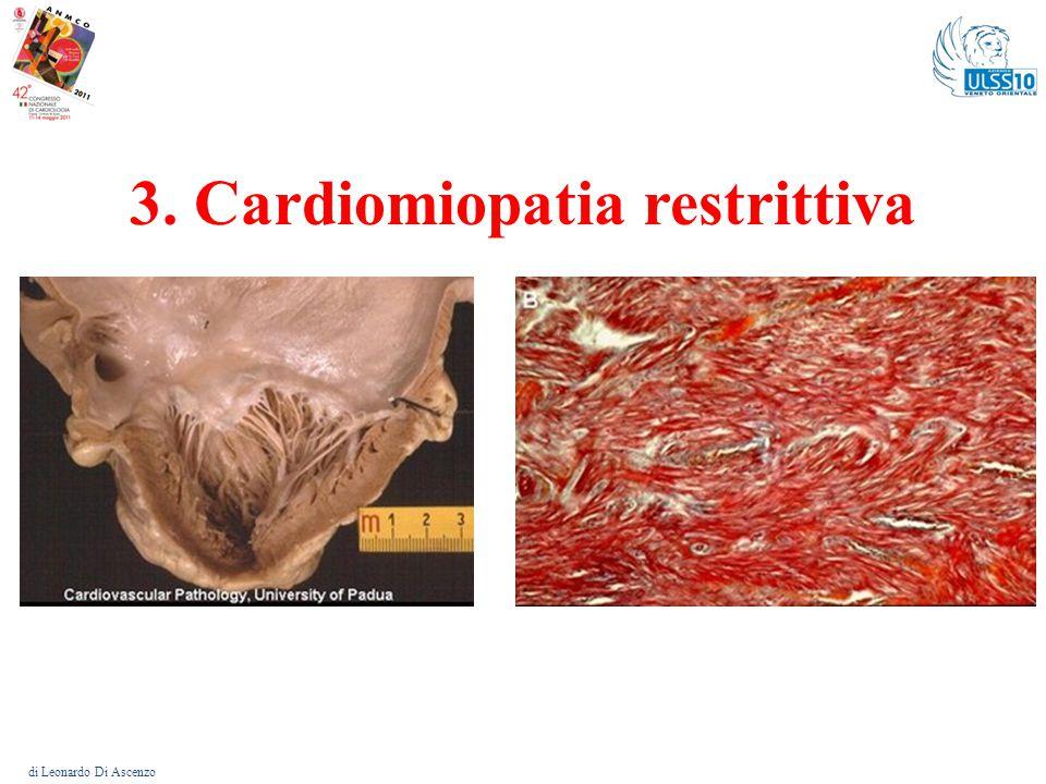 Cardiomiopatia restrittiva – Valore clinico della diagnosi genetica di Leonardo Di Ascenzo Diagnosi fenotipica precisa: per non confonderla con forme di c.