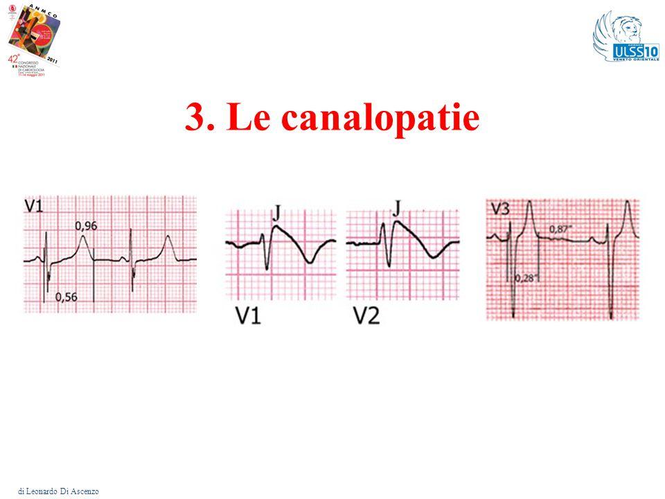 Le canalopatie – Elementi comuni di Leonardo Di Ascenzo In tutte il primo elemento prognostico in termini di M.I.