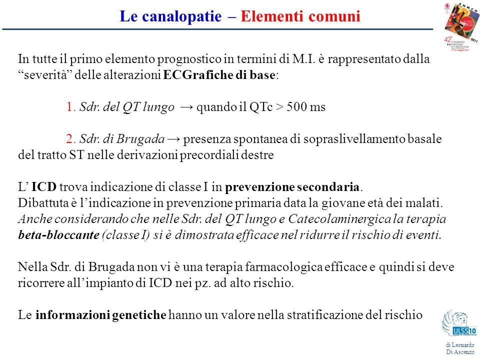 Sindrome del QT lungo di Leonardo Di Ascenzo Trasmissione: - più comune è quella autosomica dominante Romano-Ward e Timothy syndrome - più rara e più severa è quella autosomica recessiva (sdr.