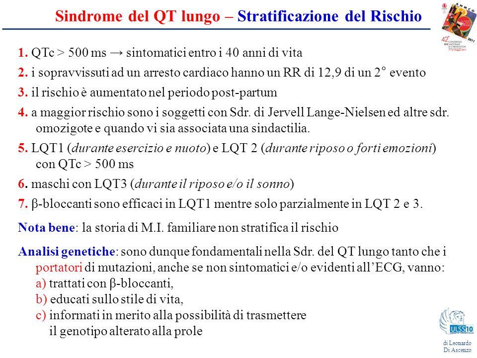 Sindrome del QT corto di Leonardo Di Ascenzo Definizione: - descritta per la prima volta nel 2000 da Gussak et al.