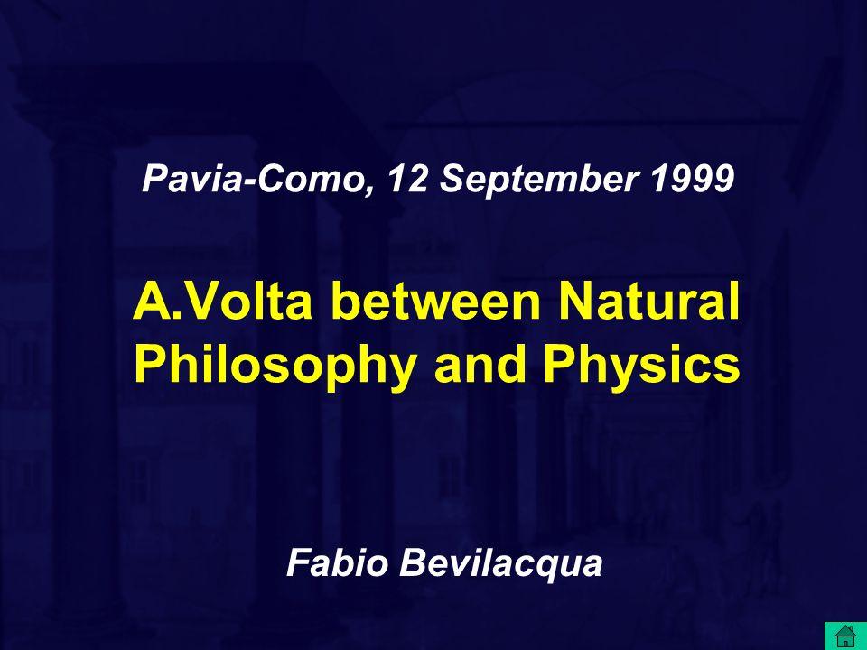 Volta and Napoleon 1796: The battle of Lodi (near Pavia) 1801: Institut de France