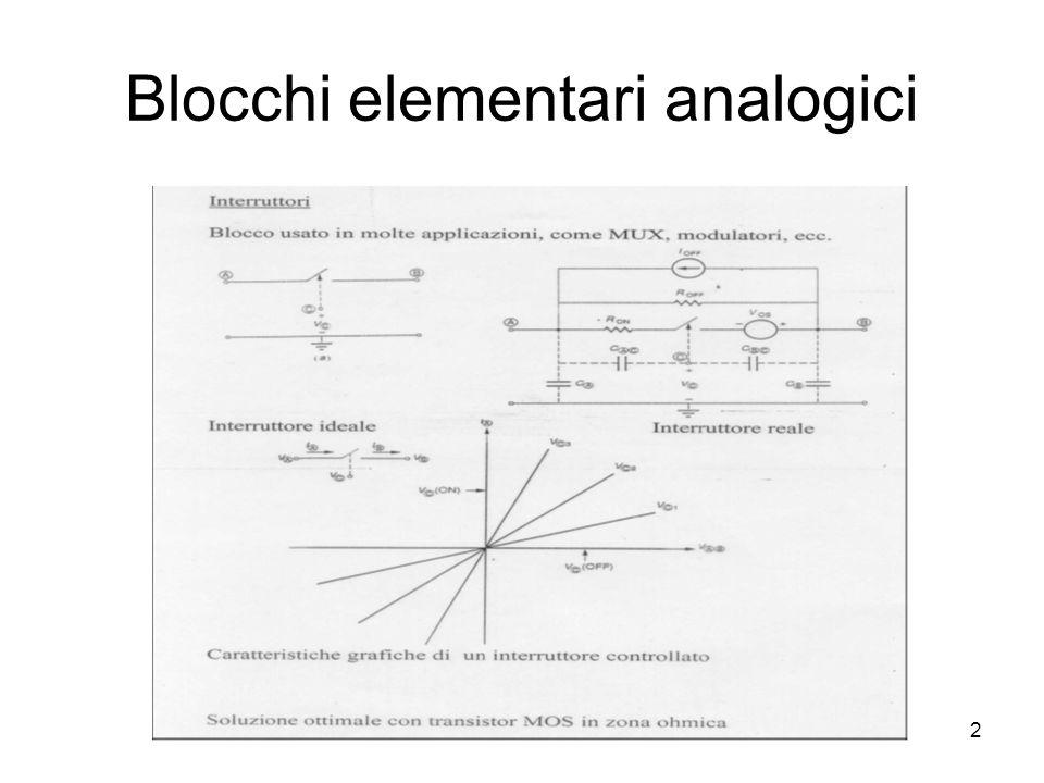 2 Blocchi elementari analogici