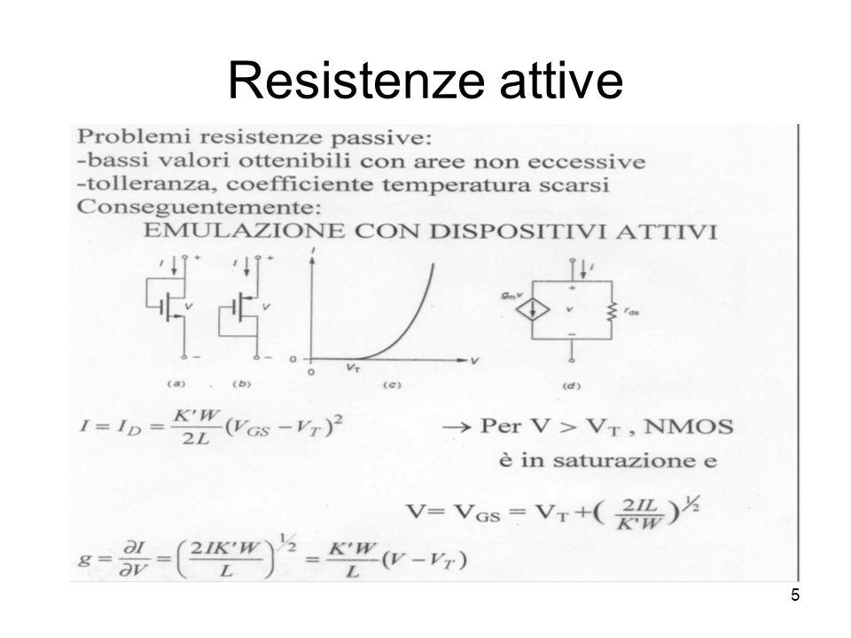 5 Resistenze attive