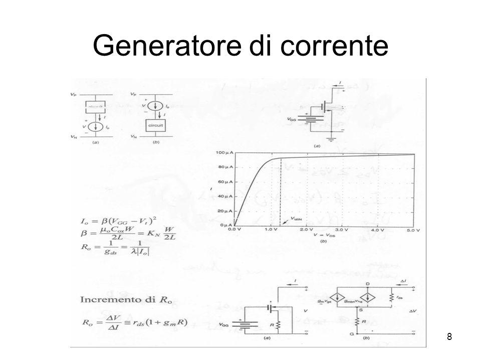 8 Generatore di corrente