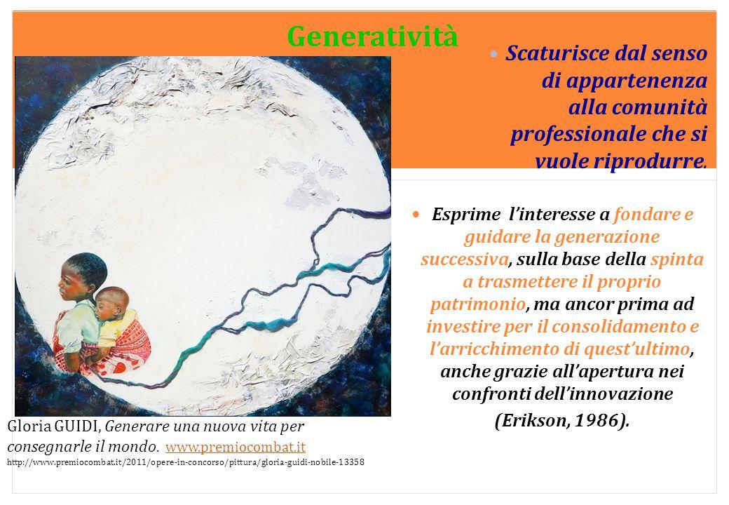 Marilena DELLAVALLE - Università di Torino-2014 Scaturisce dal senso di appartenenza alla comunità professionale che si vuole riprodurre. Esprime l'in