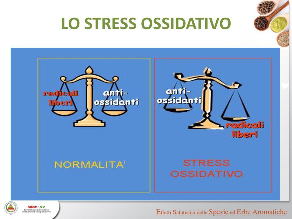 LO STRESS OSSIDATIVO