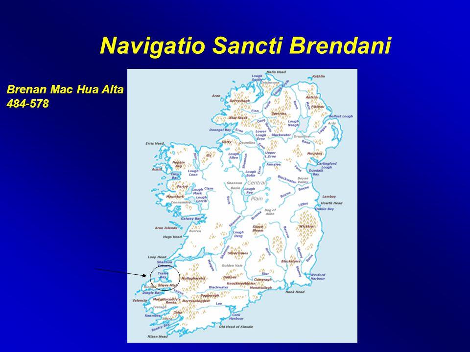 Navigatio Sancti Brendani Brenan Mac Hua Alta 484-578