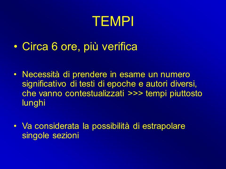 Bibliografia (III) Strumenti didattici G.