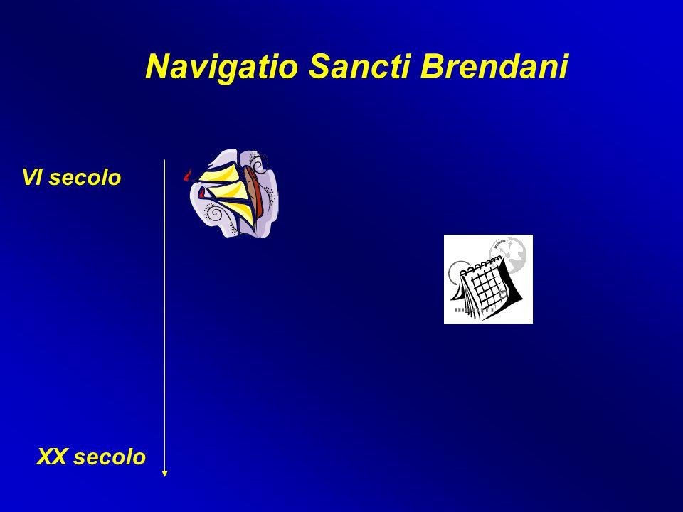 Navigatio Sancti Brendani VI secolo XX secolo