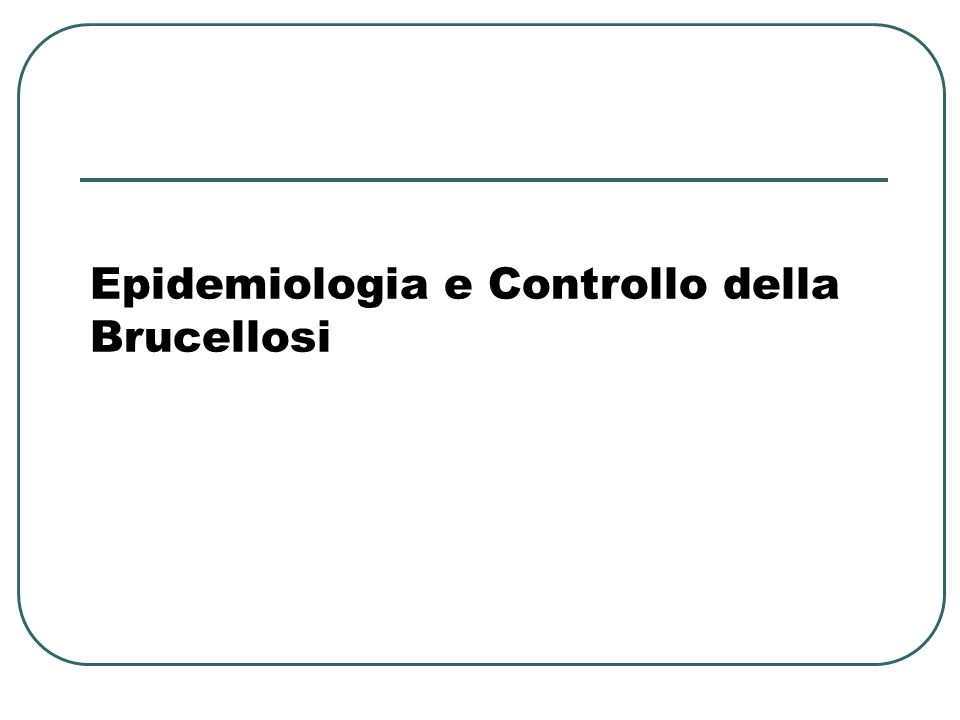 Brucellosi: Cani Suscettibili a B.canis, B. melitensis, B.