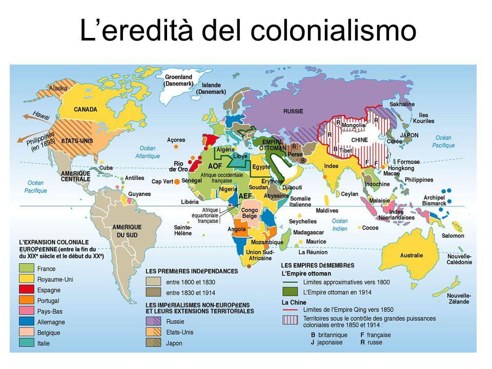 L'eredità del colonialismo