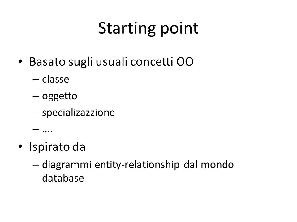 Esempio Collaboration Diagram Iscrizione di una coppia ad un torneo /G1:Giocatore/T:Torneo 1: nuovoTorneo(\T,descr) /G2:Giocatore/C:Coppia primo secondo 3: si(\T,descr) 2: interessa(\T,descr) 4: attivatiPer(\T) 5: iscrivi(\C) 6: ok(\C) 7: ok(\T) 8: ok(\T)