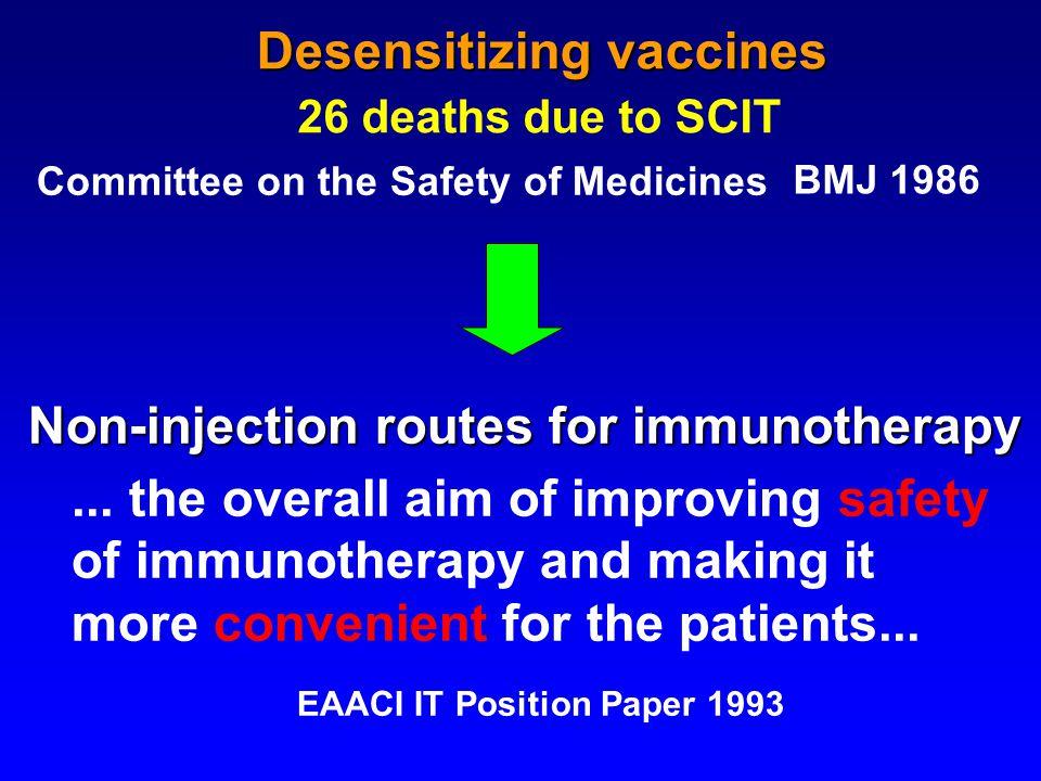 Standards for practical allergen-specific immunotherapy.