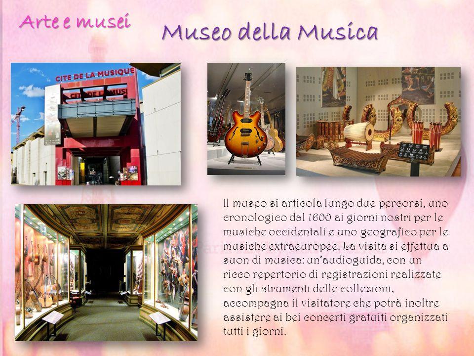 Museo della Musica Il museo si articola lungo due percorsi, uno cronologico dal 1600 ai giorni nostri per le musiche occidentali e uno geografico per