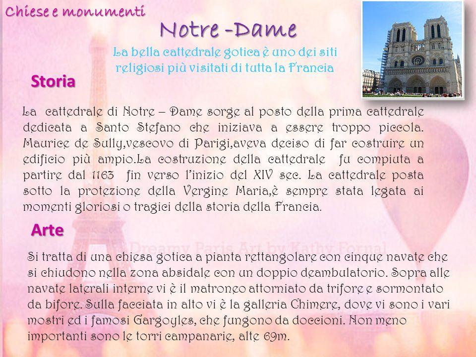 Notre -Dame La cattedrale di Notre – Dame sorge al posto della prima cattedrale dedicata a Santo Stefano che iniziava a essere troppo piccola. Maurice