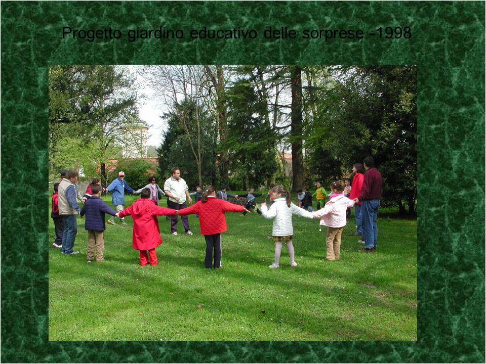 Progetto giardino educativo delle sorprese -1998