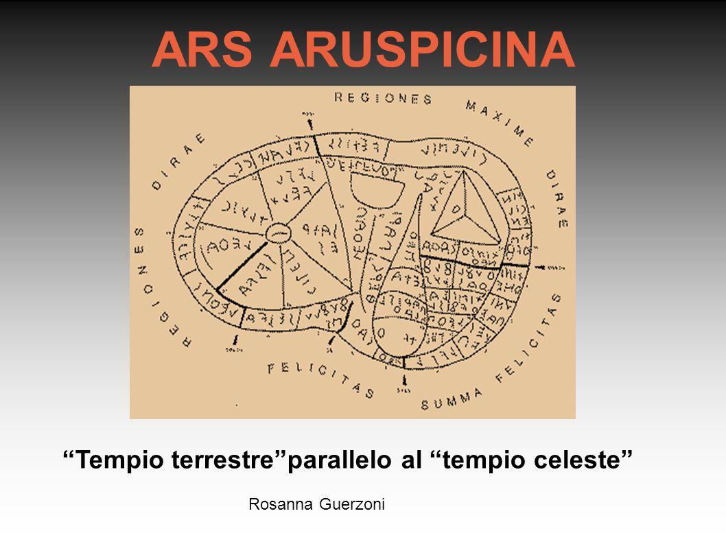 "Rosanna Guerzoni ARS ARUSPICINA ""Tempio terrestre""parallelo al ""tempio celeste"""